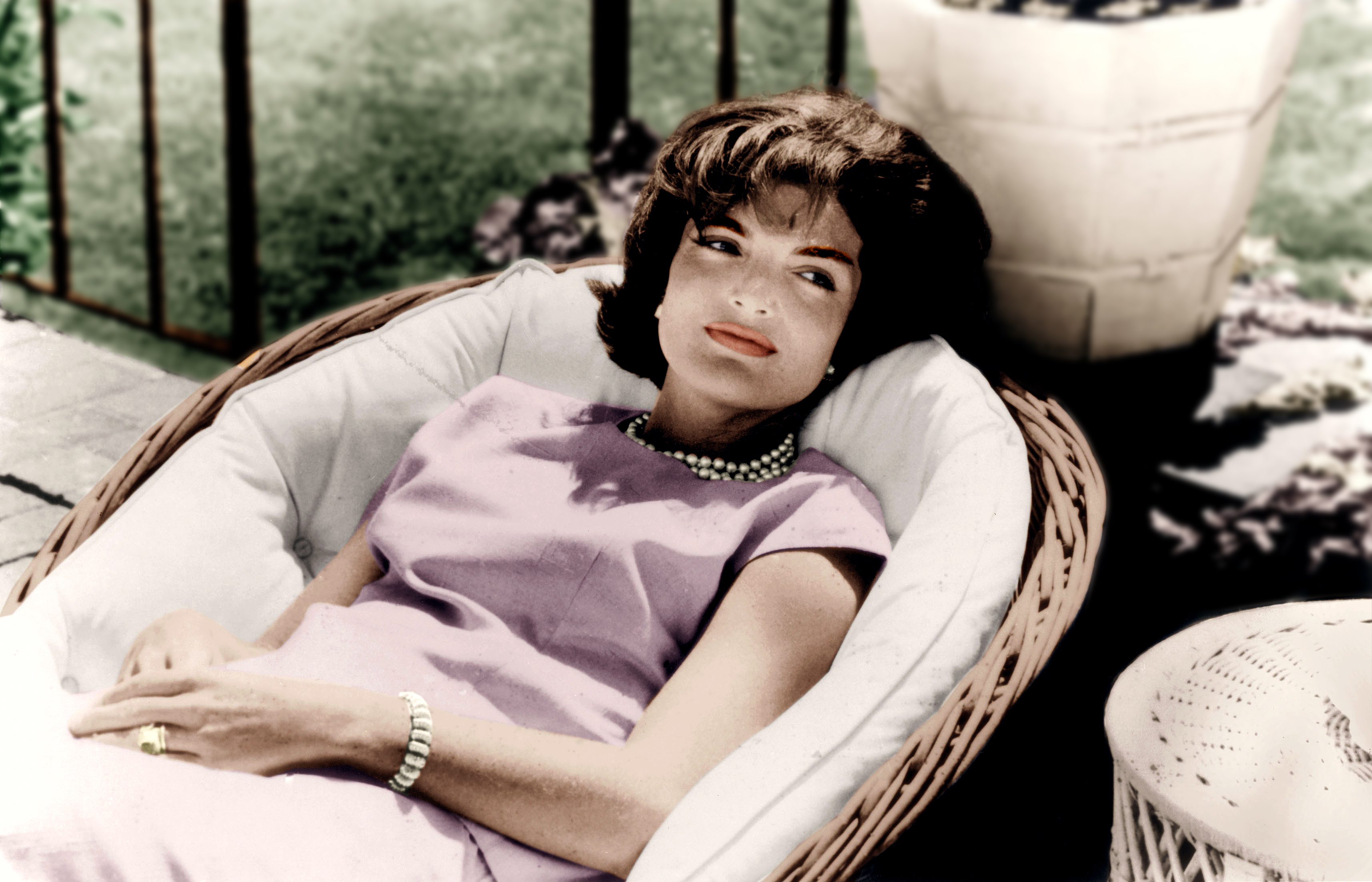 Jackie Kennedy s'expose à Paris