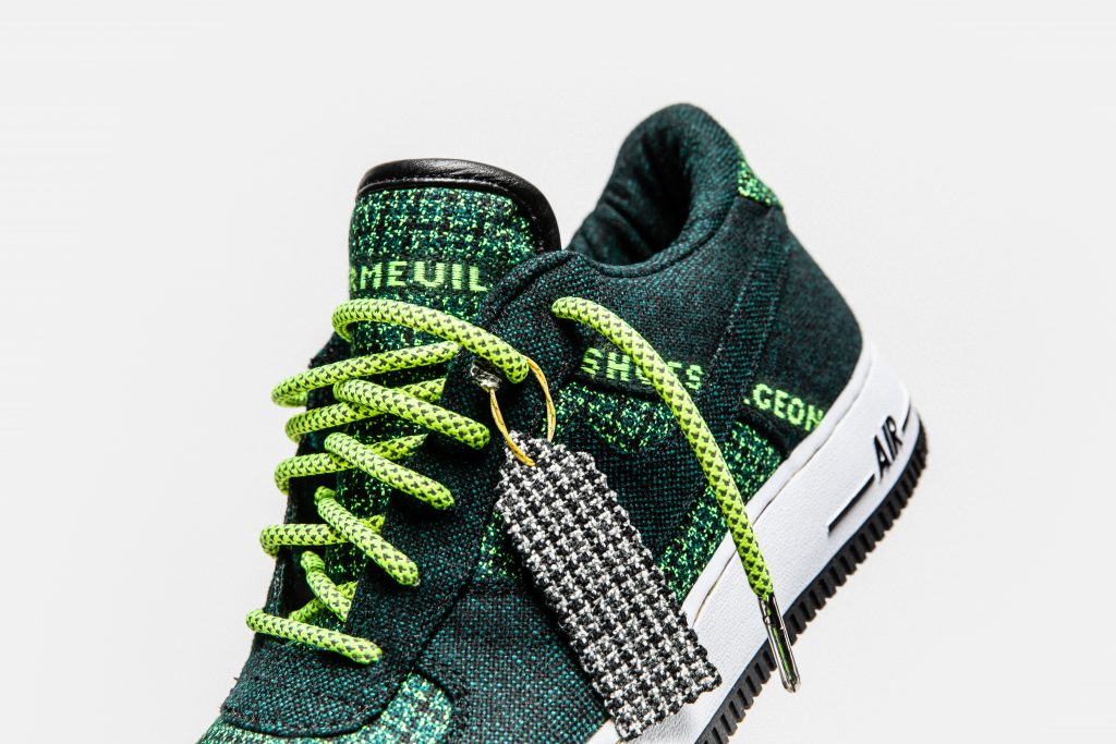 Collab Dormeuil x The Shoe Sergent : la verte